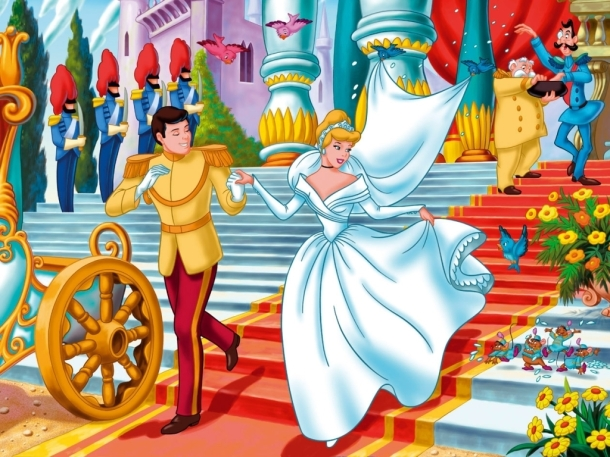 So Prince married Cinderella and lived happily ever